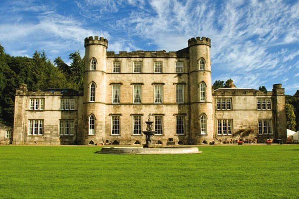 Melville Castle in Midlothian, Scotland.