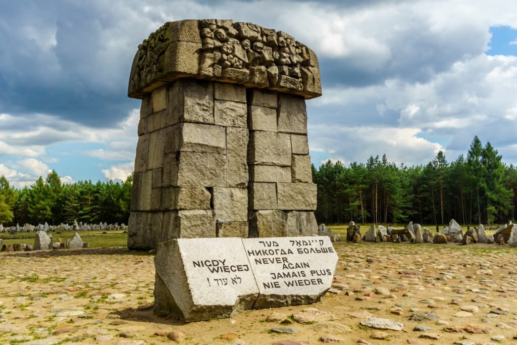 Memorial at the Treblinka Concentration Camp.