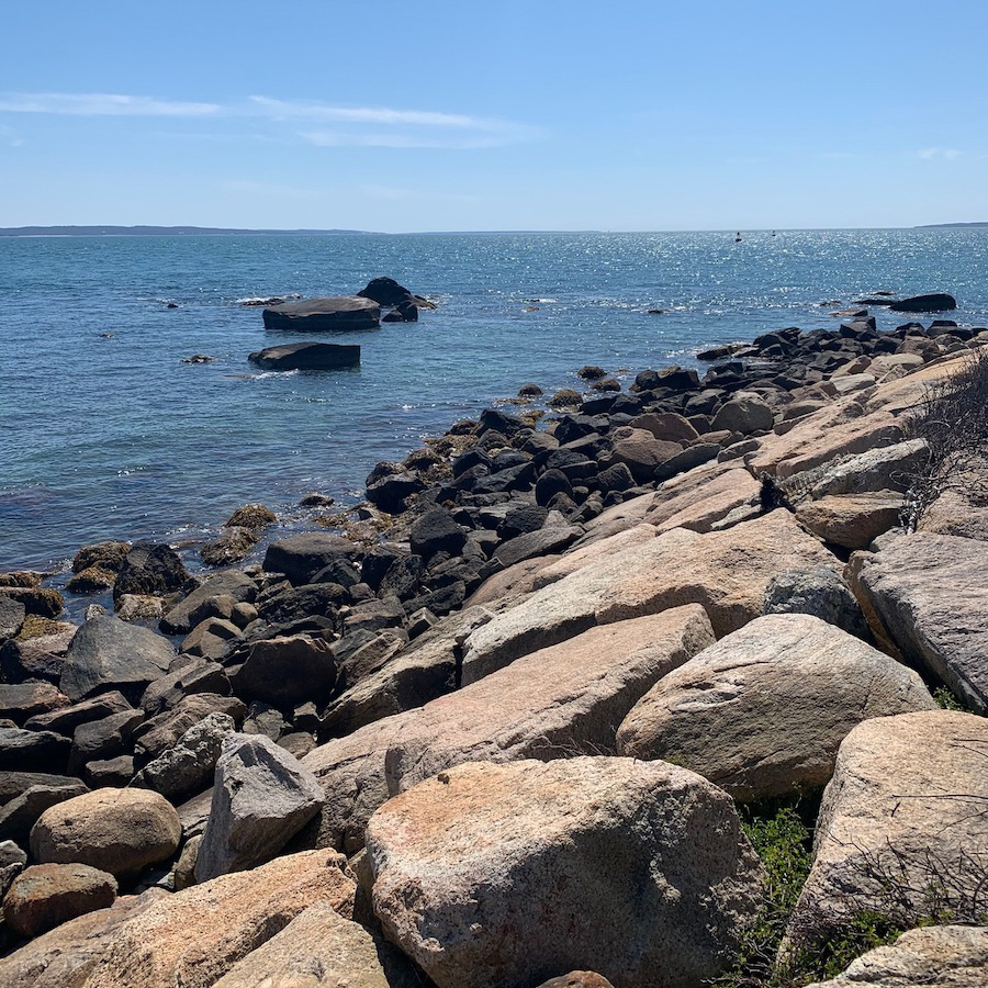Menauhant Beach in Cape Cod.