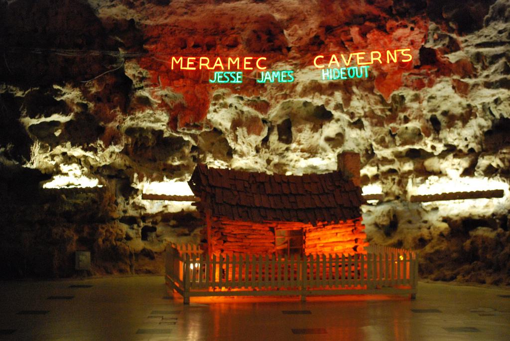 Meramec Caverns near Stanton, Missouri
