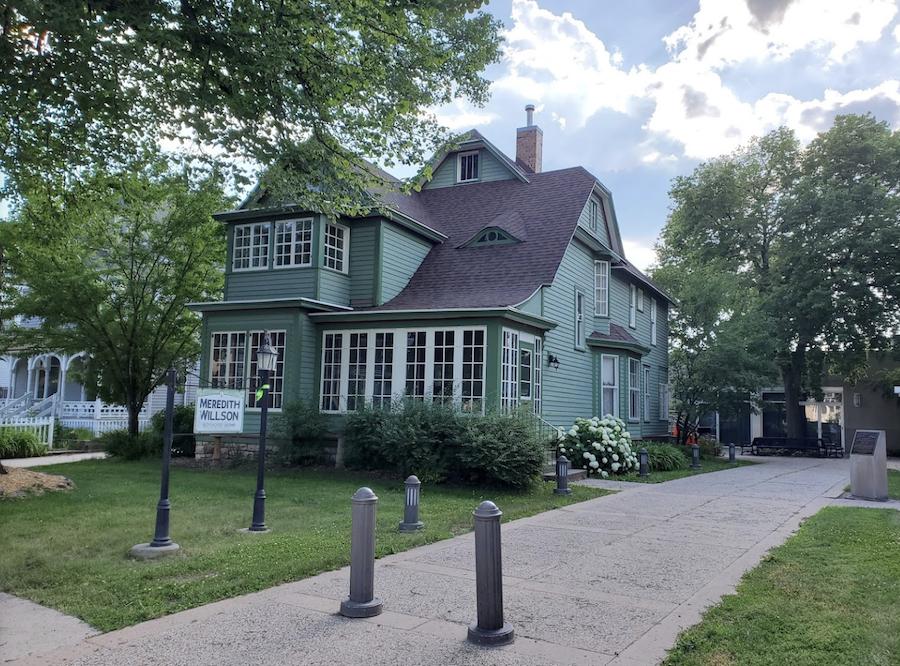 Meredith Wilson's boyhood home in Mason City, Iowa.