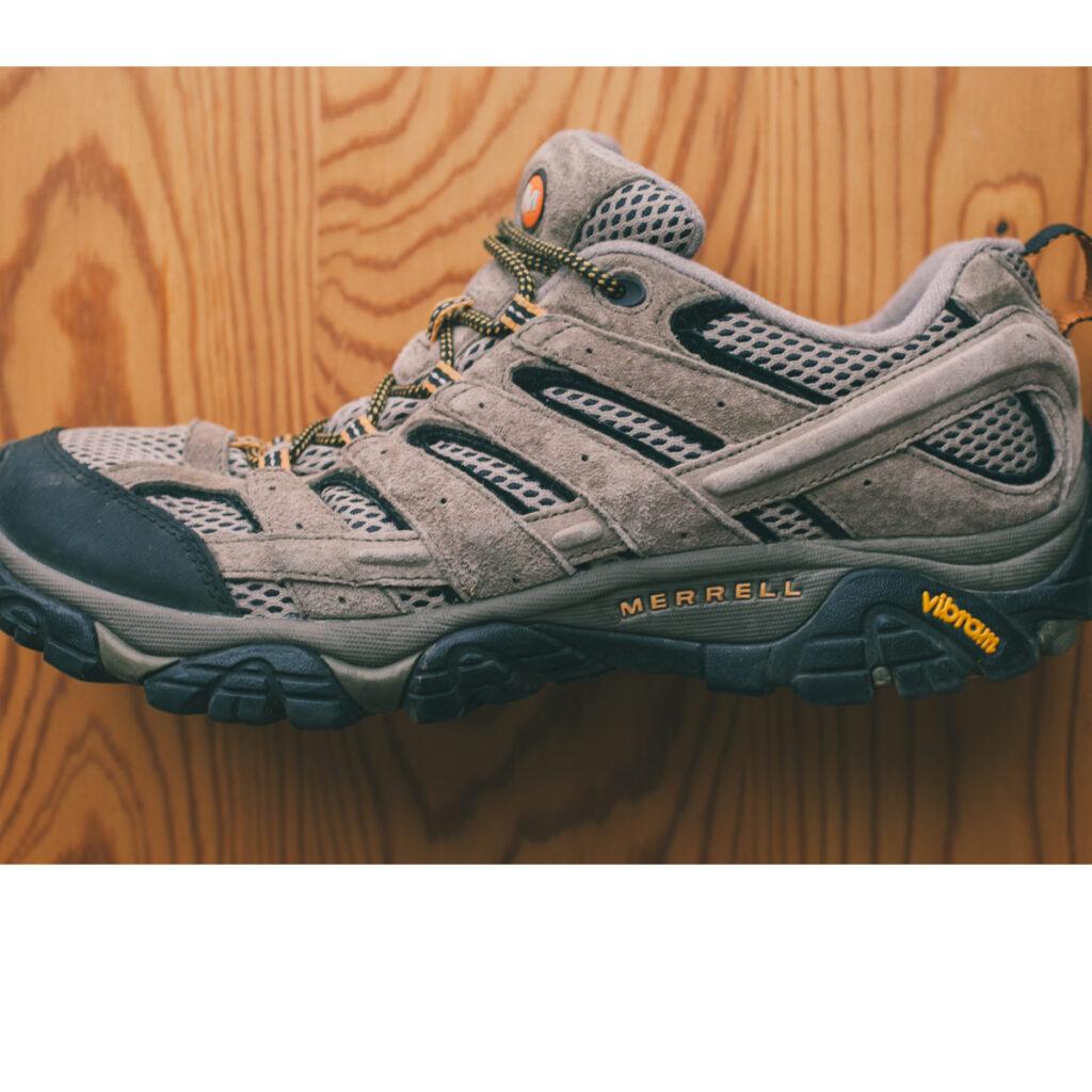 Merrel Moab shoes.