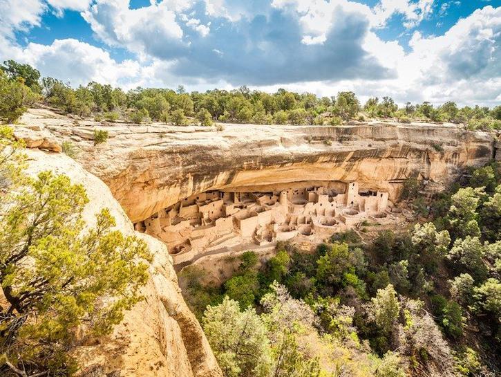 Mesa Verde National Park in Colorado.