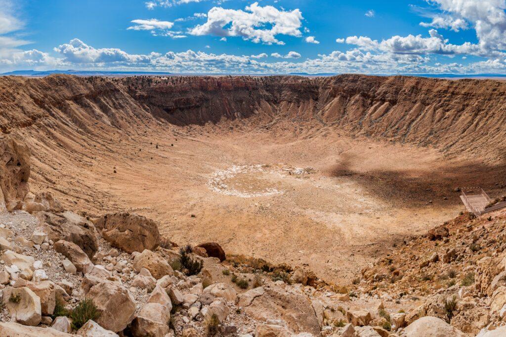 Meteor Crater near Flagstaff, Arizona.