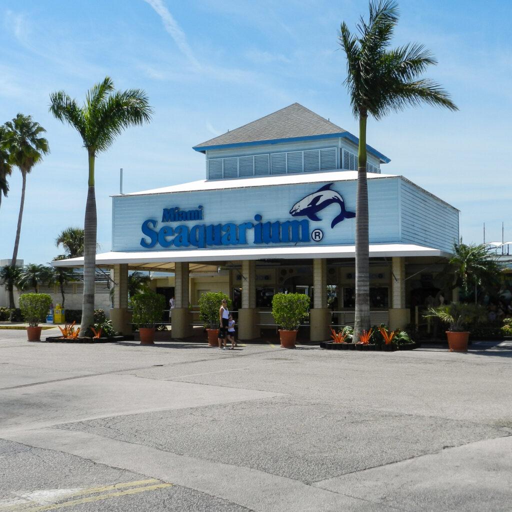 Miami Seaquarium in Virginia Key