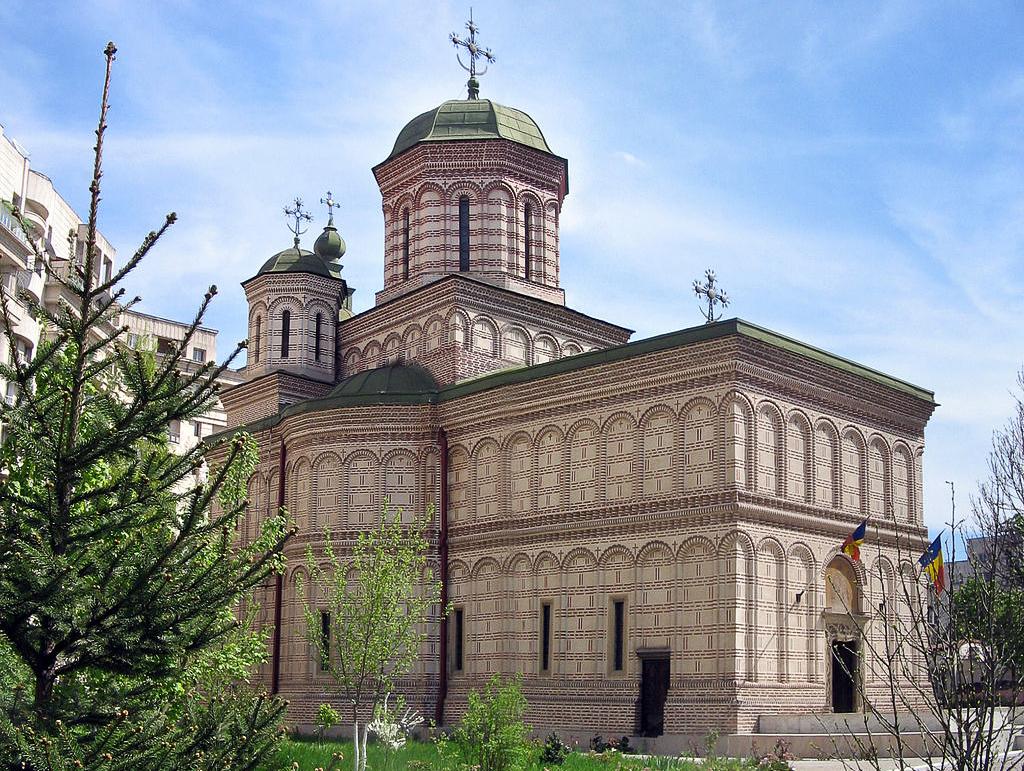 Mihai Voda Church in Bucharest.