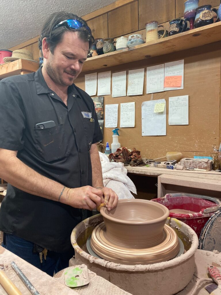 Mike Fowler of Fowler Clay Works.
