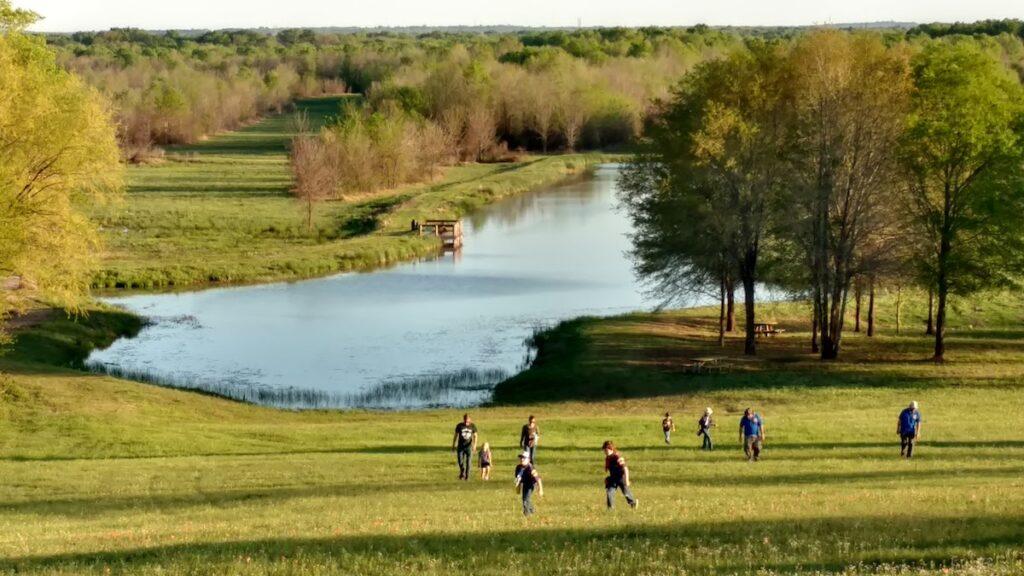 Mineola Nature Preserve in Texas.