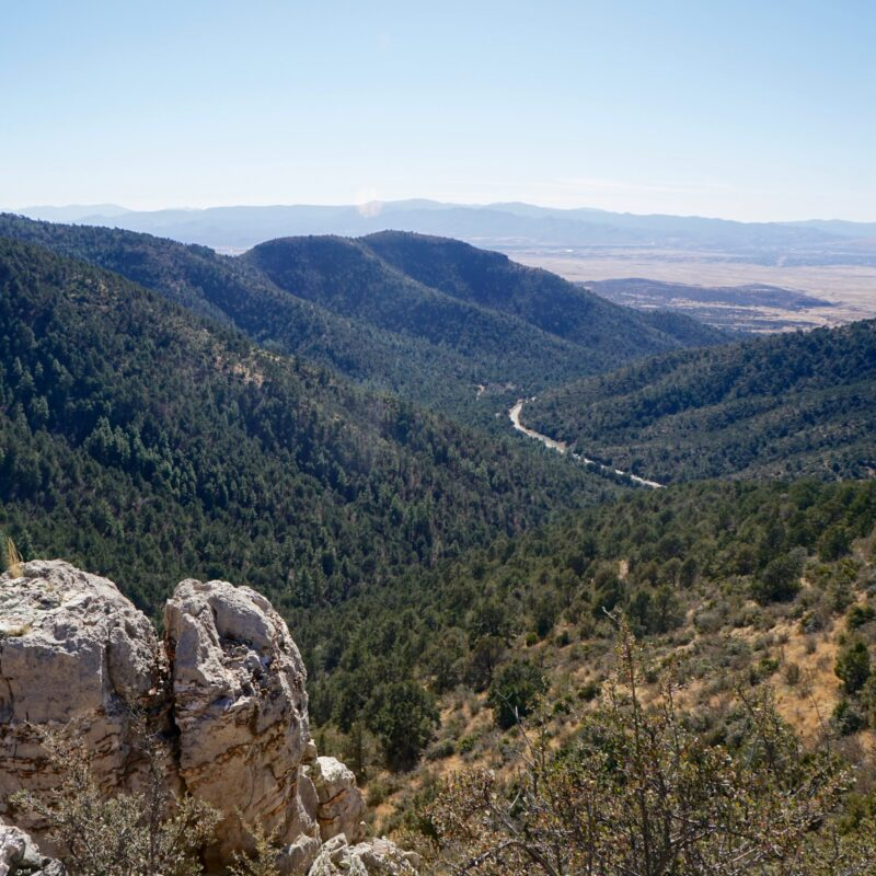 Mingus Mountain views near Cottonwood, Arizona.