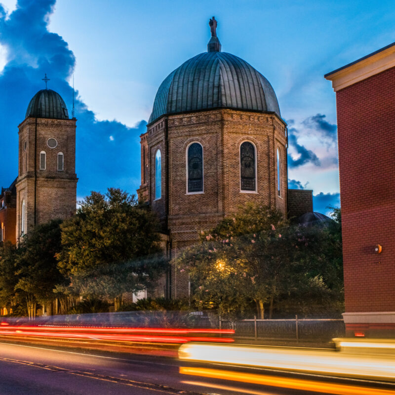 Minor Basilica of the Immaculate Conception, Natchitoches, Louisiana.