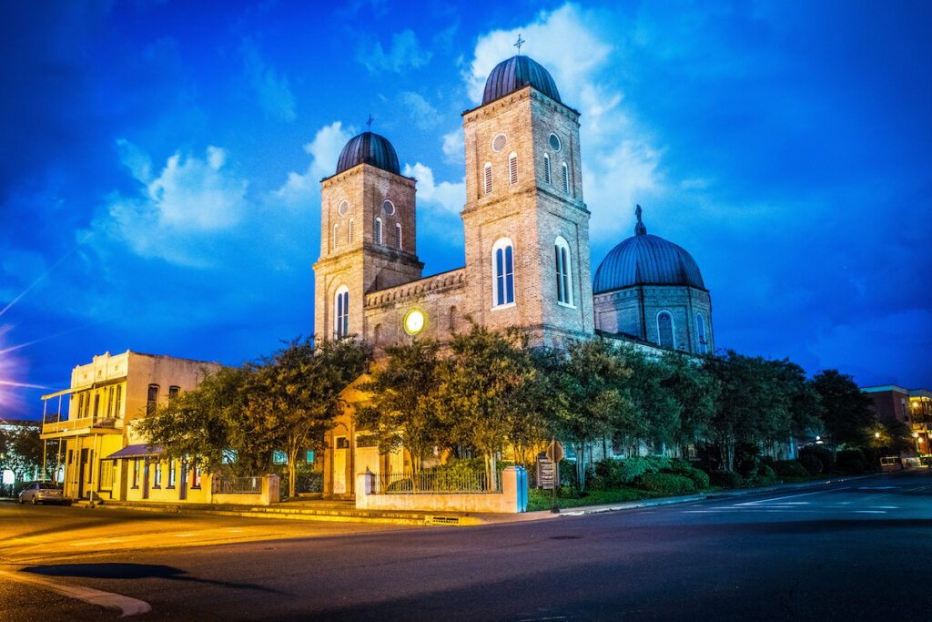 Minor Basilica Of The Immaculate Conception, Natchitoches.