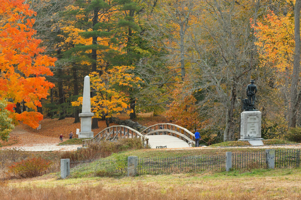 Minute Man National Historical Park, Concord.