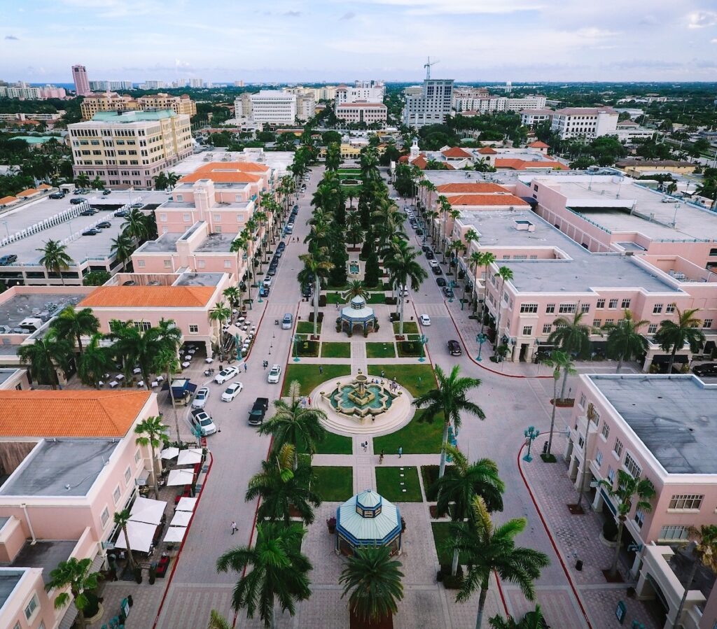 Minzer Park, Boca Raton, Florida.