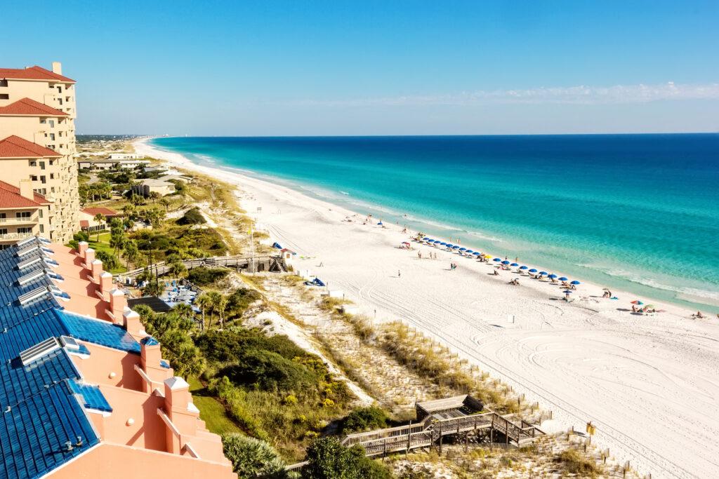 Miramar Beach in Destin, Florida.