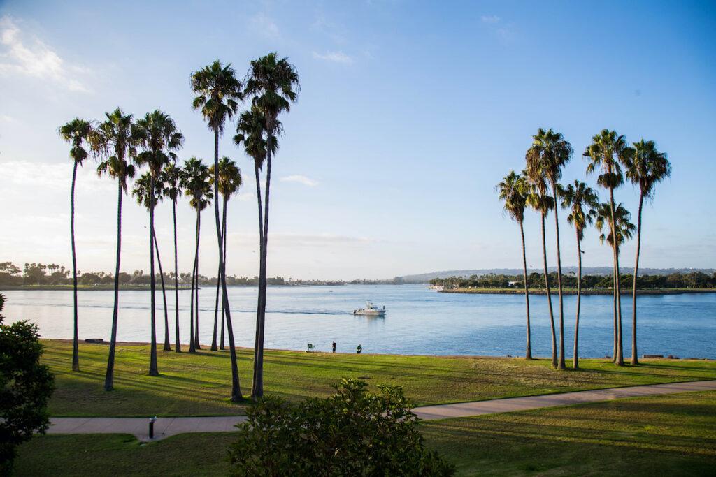 Mission Bay Park in San Diego, California.