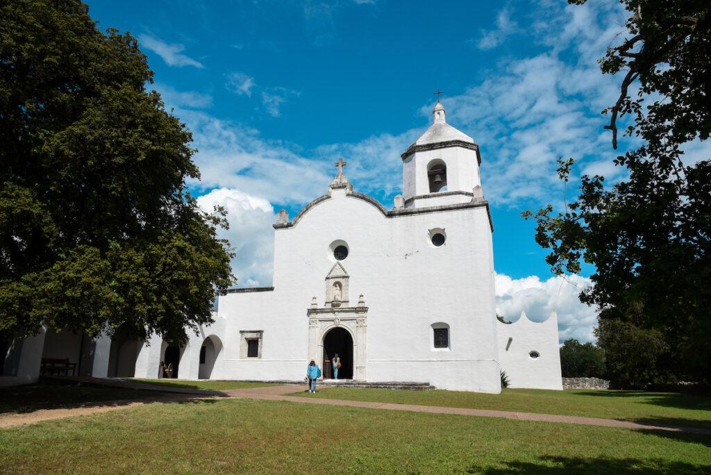 Mission Espiritu Santo, Goliad, Texas.