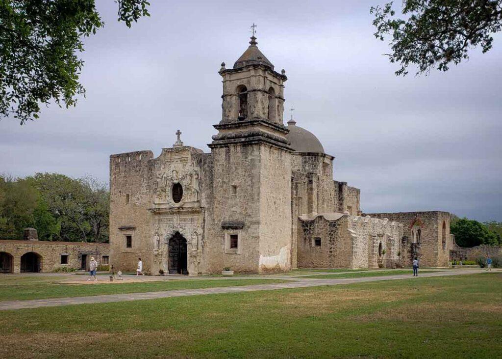 Mission San Jose y San Miguel in San Antonio.