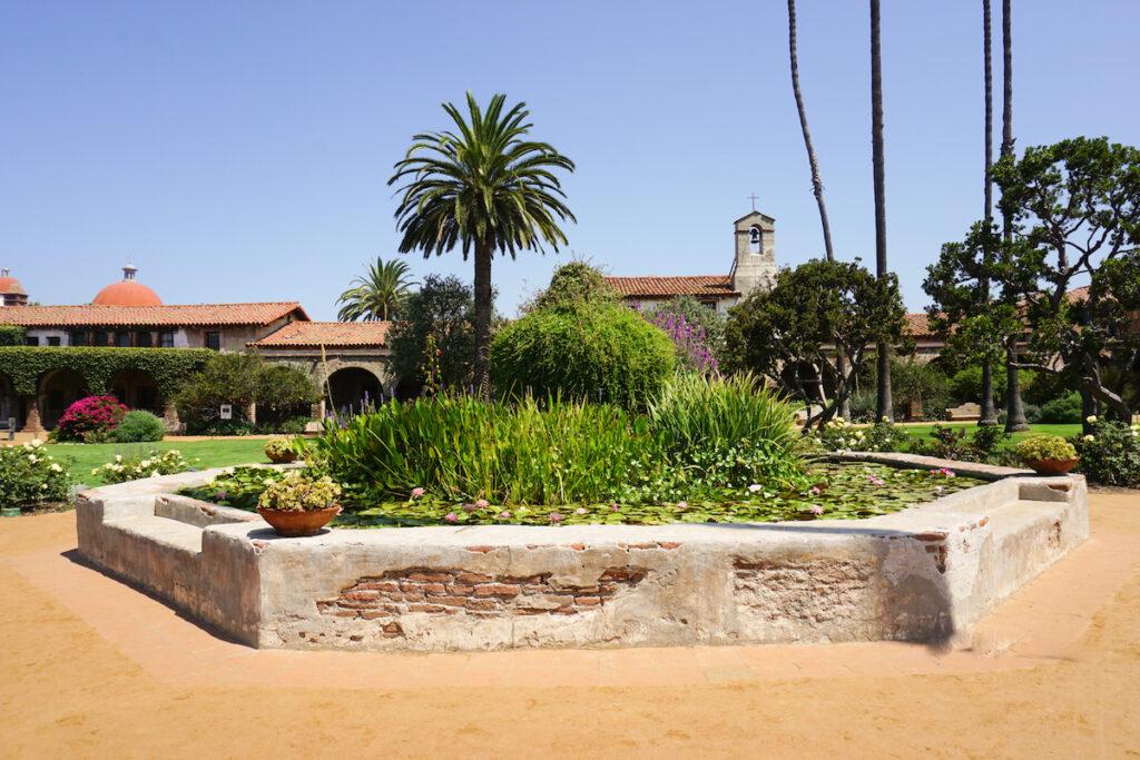 Mission San Juan Capistrano, California.