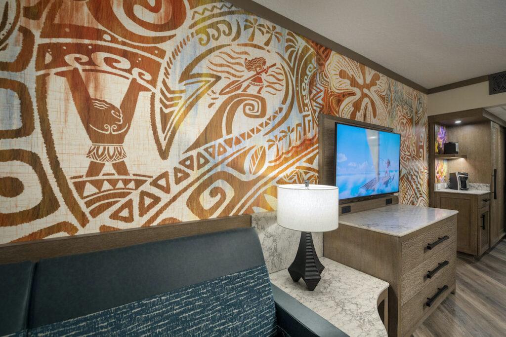 Moana-inspired room, Walt Disney World.