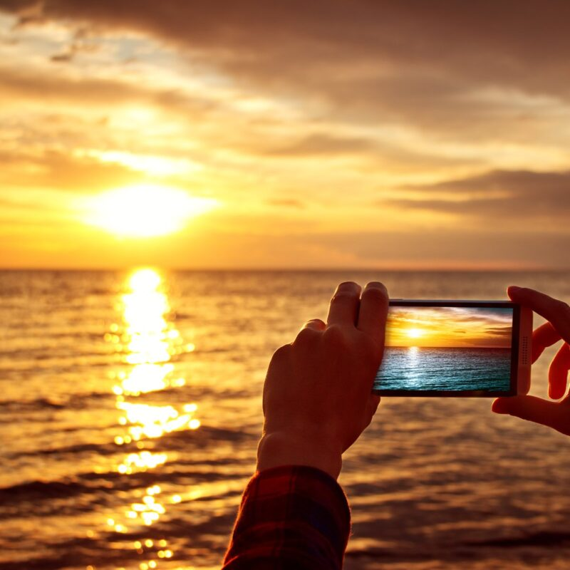 Mobile phone travel photography.