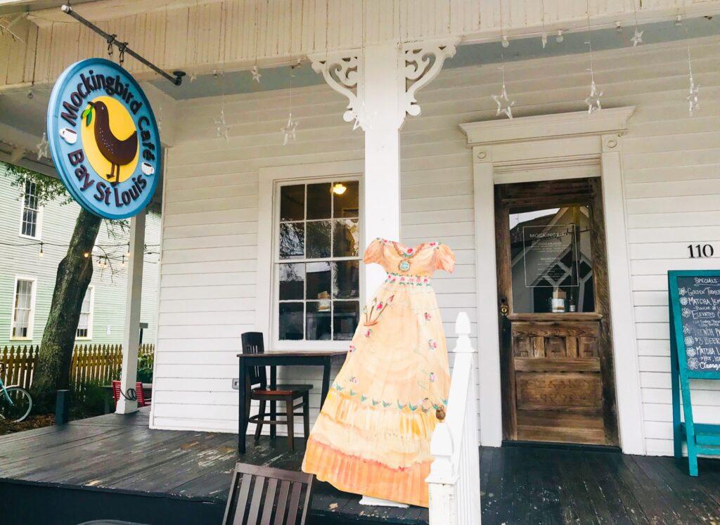 Mockingbird Cafe in Bay St. Louis, Mississippi.