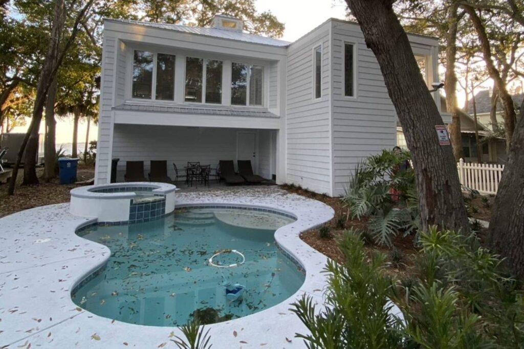 Mod Home (With Private Pool) On Saint Simons Island