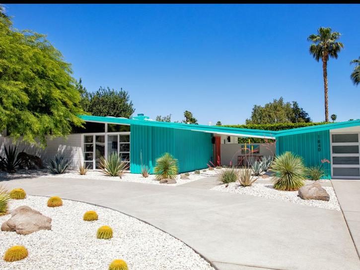 Modernist home Palm Springs