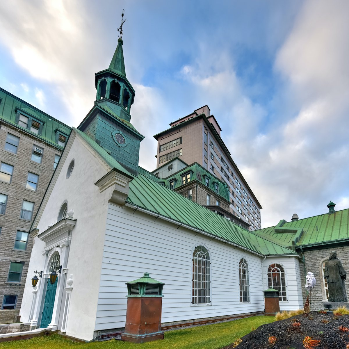 Monastery in Quebec City, Canada.