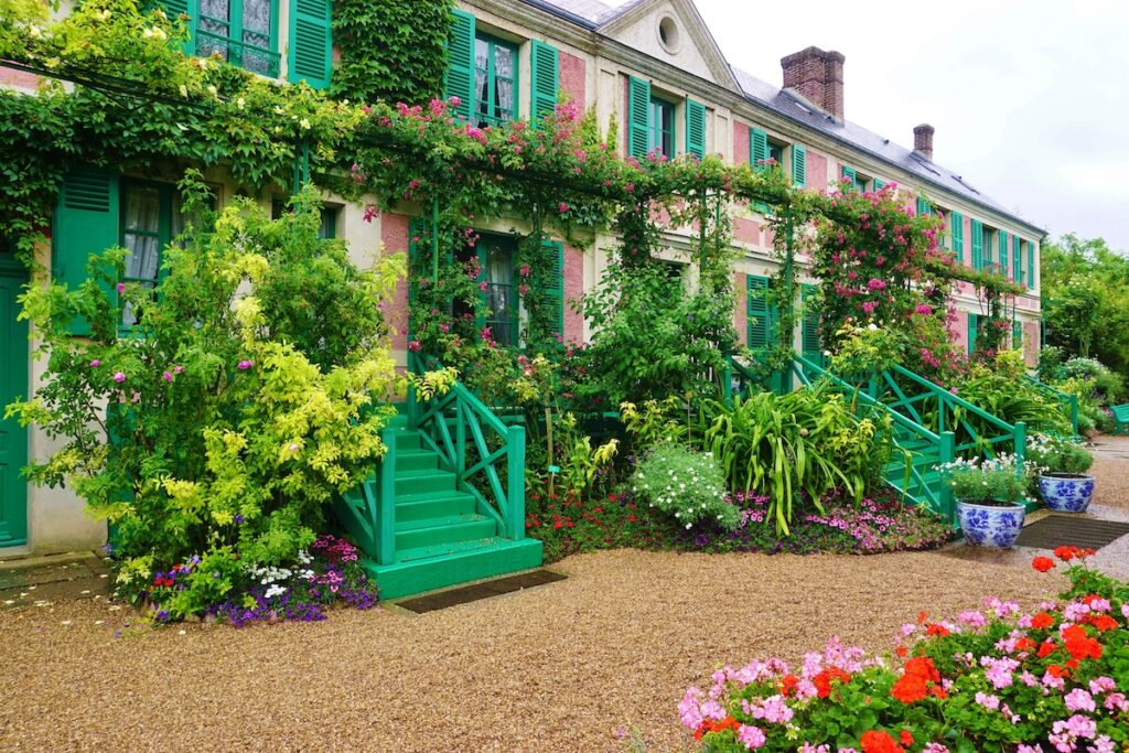 Monet's home and gardens in Giverny, France.