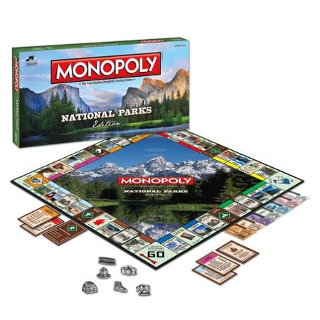 Monopoly National Parks Edition.
