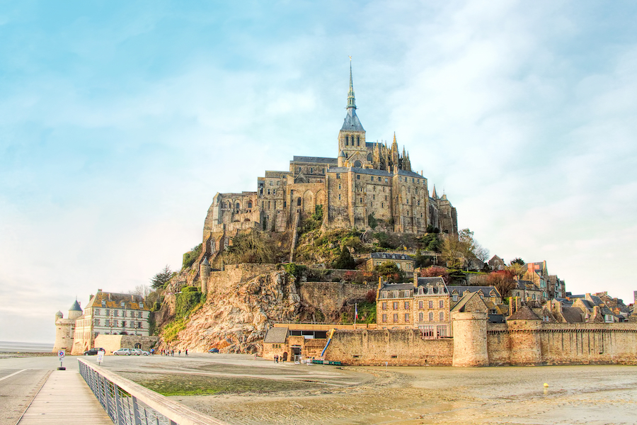 Mont Saint Michel in Normandy.
