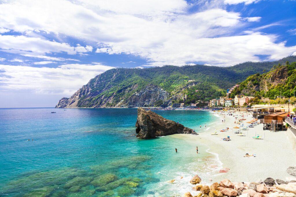 Monterosso in Liguria, Italy.