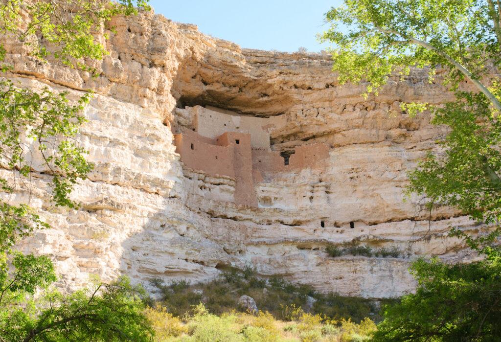 Montezuma Castle in Arizona.