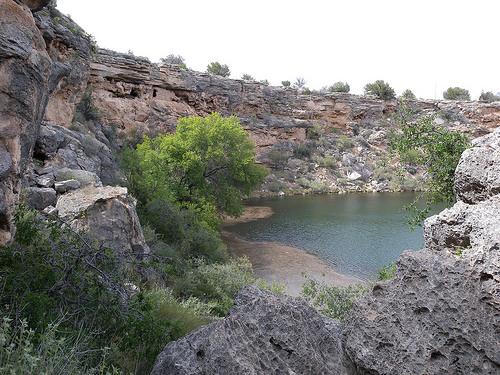 Montezuma Well, Montezuma National Monument, Arizona