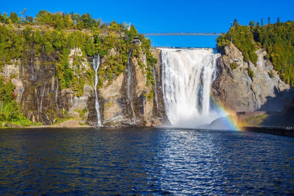 Montmorency Falls Park in Quebec.