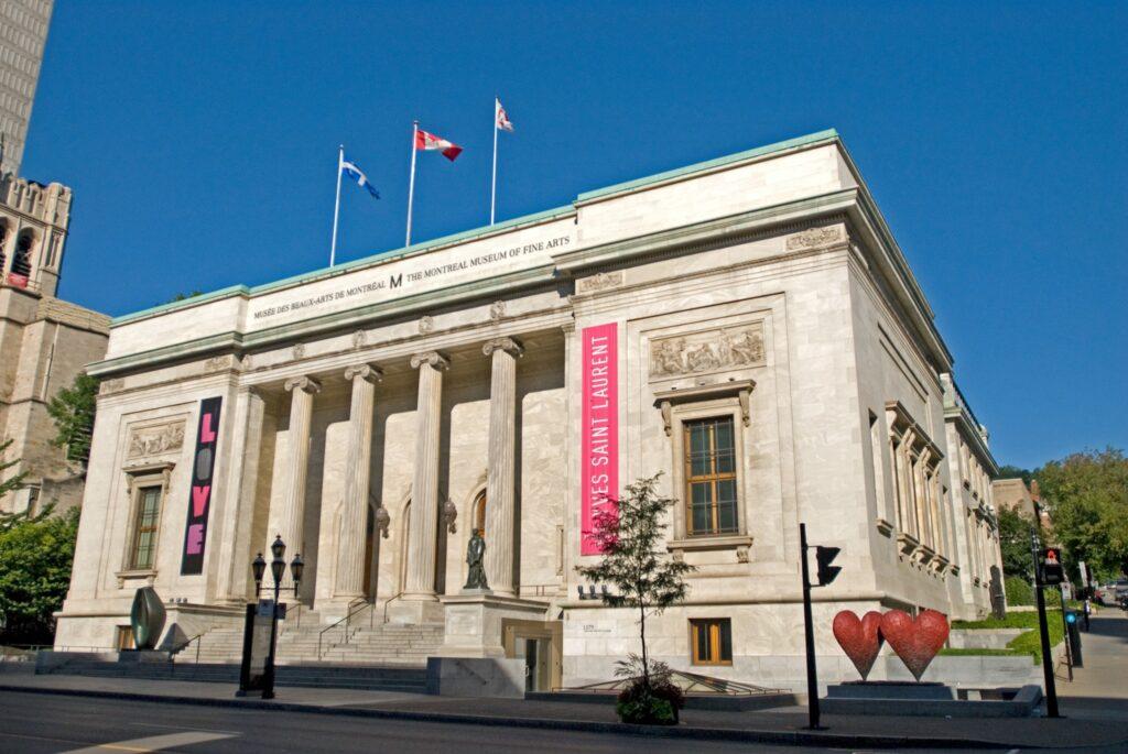 Montreal's Museum of Fine Arts.