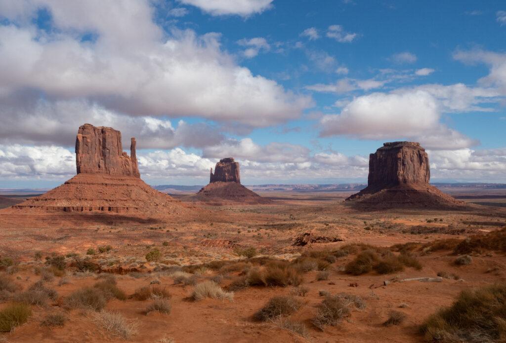 Monument Valley near Moab, Utah.