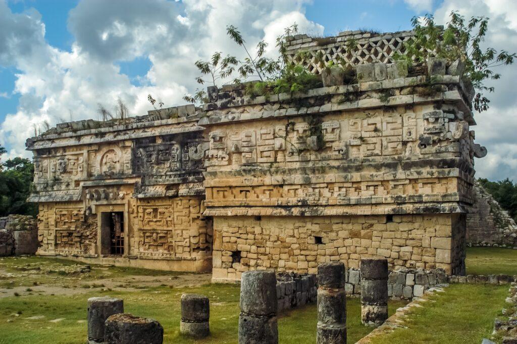 More Mayan ruins at Chichen Itza.