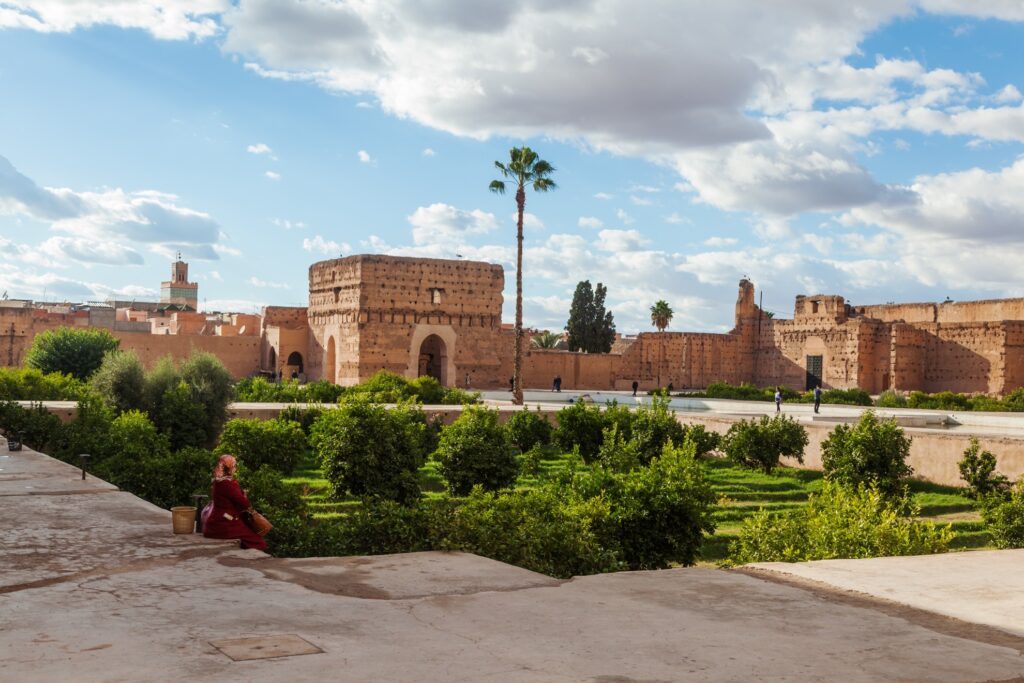 Morocco's El Badi Palace.