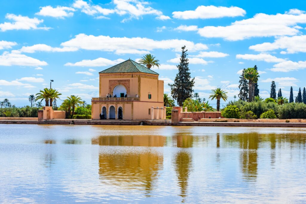 Morocco's Menara Gardens.