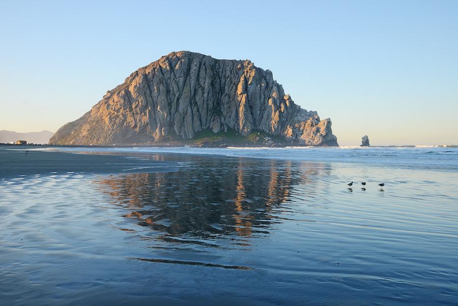 Morro Bay in San Luis Obispo, California.