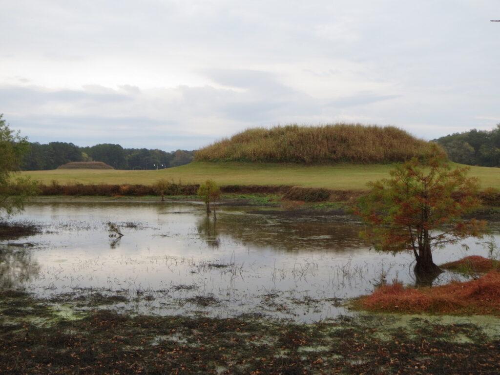 Moundville Archaeological Park in Alabama.