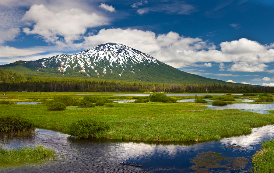 Mount Bachelor in Bend, Oregon.