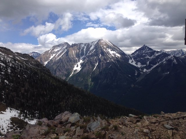 Mount Cater in Glacier National Park.