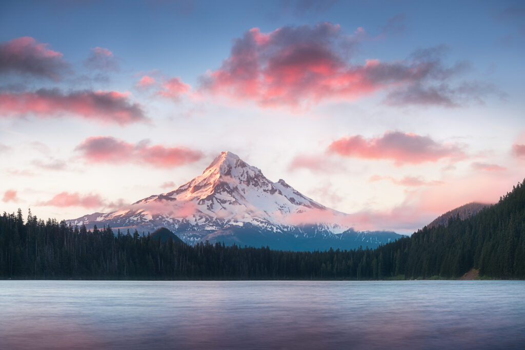 Mount Hood in the Cascades.