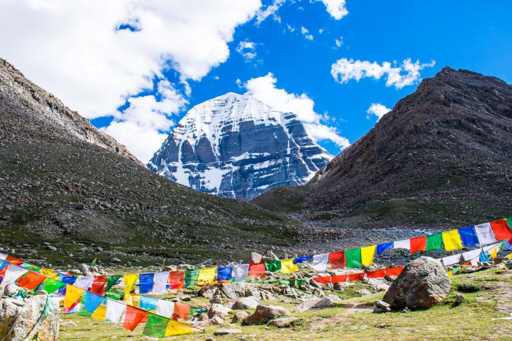 Mount Kailash in Tibet.