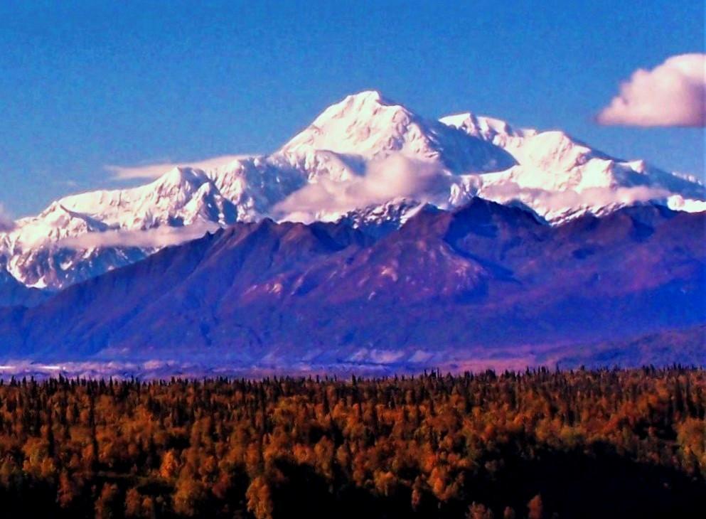 Mount McKinley in Denali State Park.