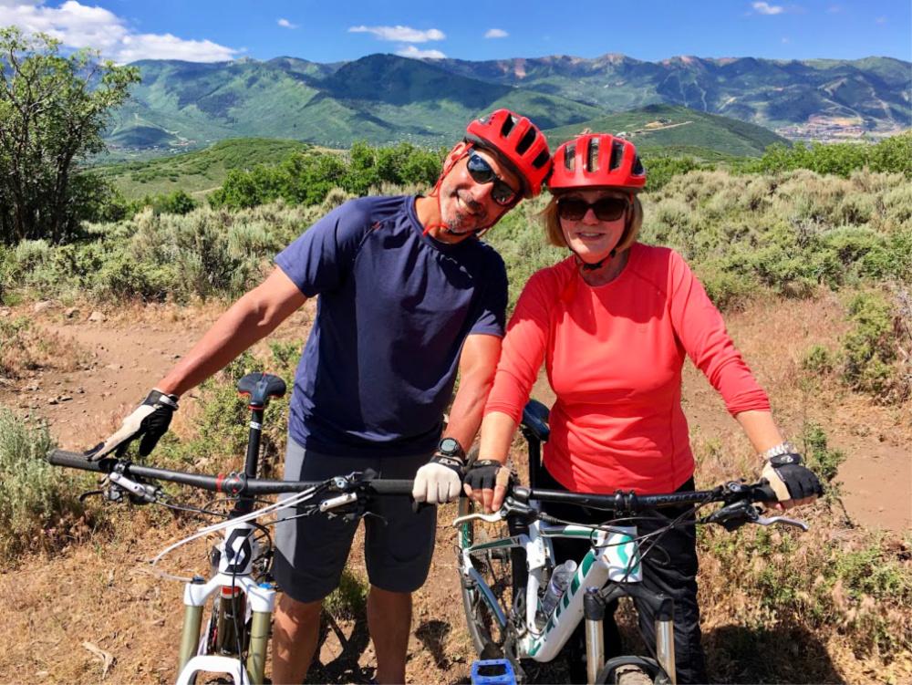 mountain biking is one of the reasons to visit deer valley utah