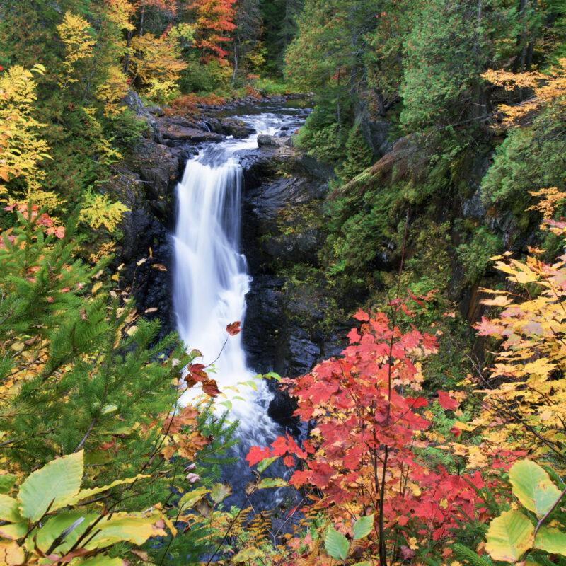 Moxie Falls in West Forks, Maine.