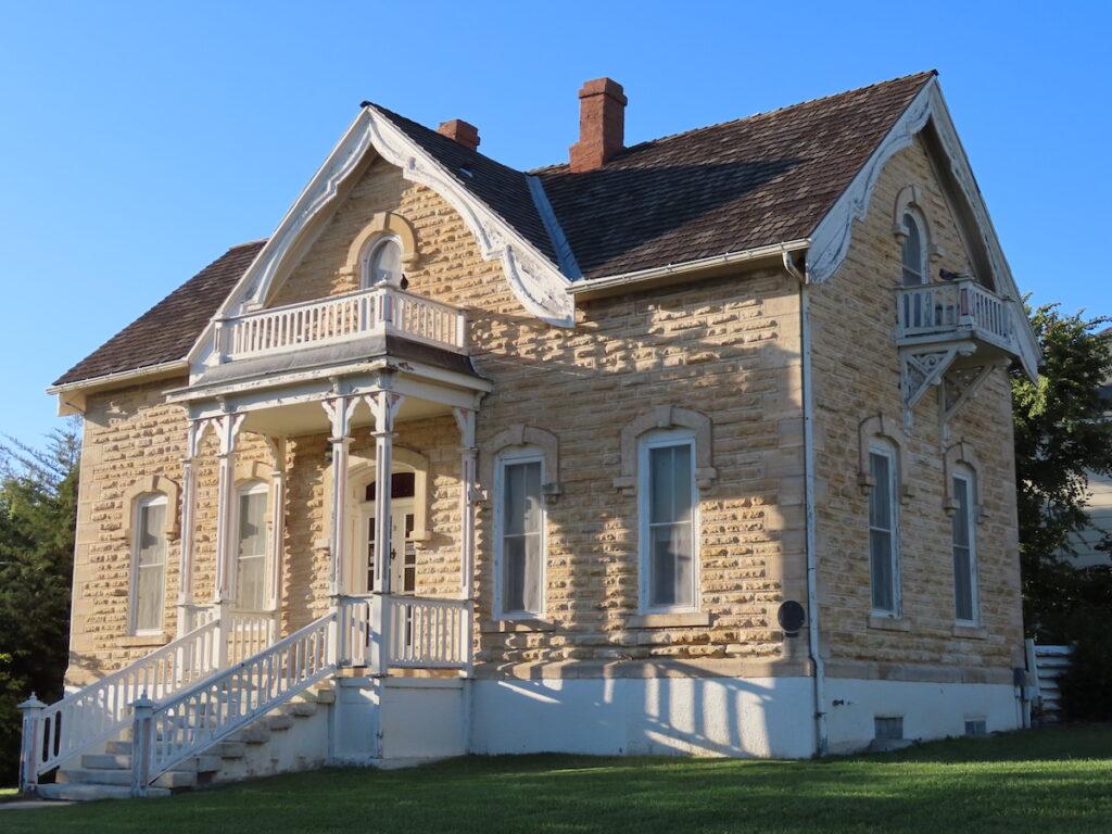 Mueller-Schmidt House in Dodge City.